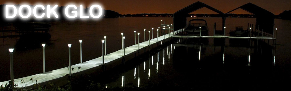 dock glo lake and river dock light system attractive functional